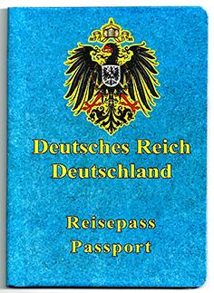 Reichs-Reisepass